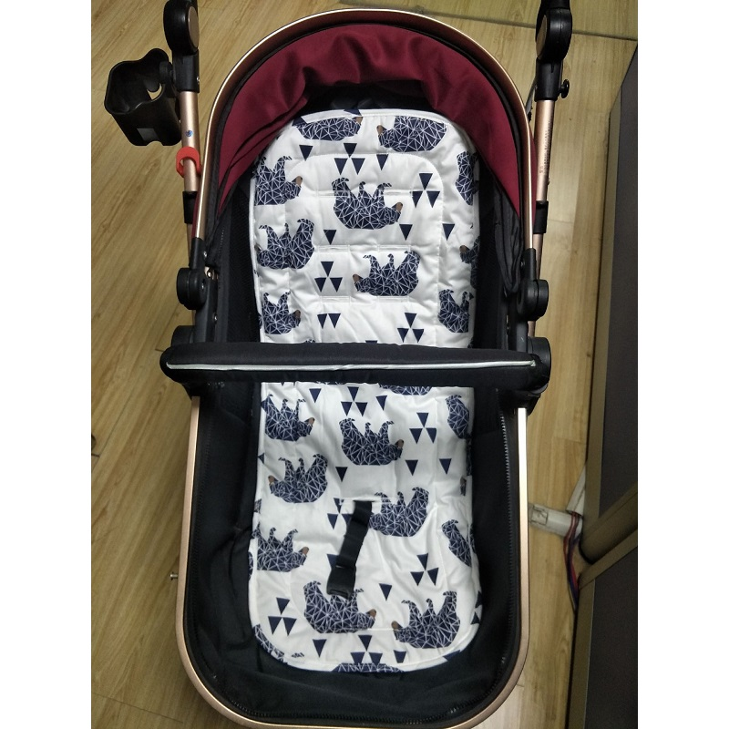 Trustful Comfortable Baby Stroller Cushion Pram Padding Liner Car Cotton Mat Cover Stroller Pad Car Seat Pad Cotton Thick Mat Durable Service Activity & Gear