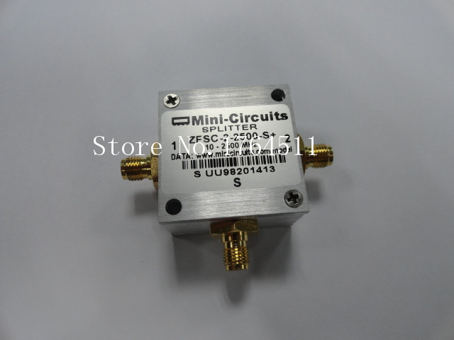 [BELLA] Mini-Circuits ZFSC-2-2500-S+ 10-2500MHz Two Power Divider New Special Offer