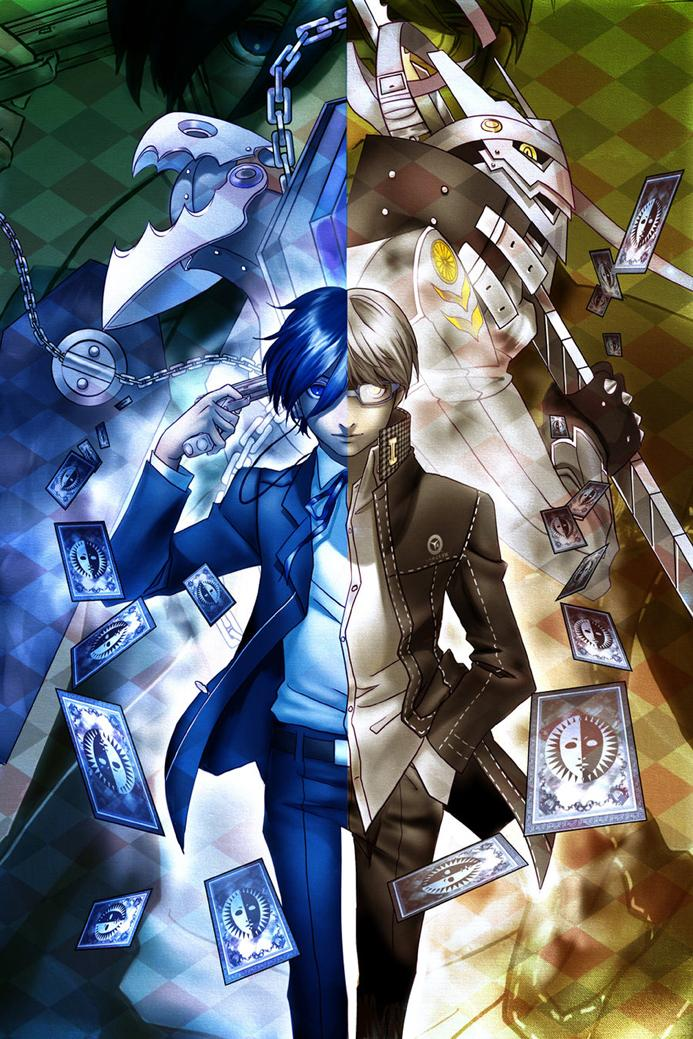 US $8 9 |Shin Megami Tensei: Persona 4 Game Watercolor inkjet Fabric poster  36