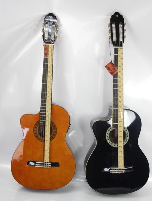 ФОТО left hand classic guitar with eq 39inch