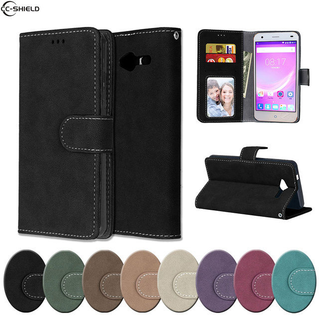 huge selection of 4ce40 8b553 US $4.69 |Flip Case for ZTE Blade L3 wallet Case Phone Leather Cover for  ZTE Blade L 3 magnetic silicon TPU Skin black Frosted coque bag-in Flip  Cases ...