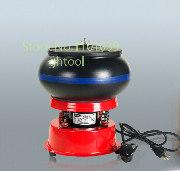 "Jewelry Making Tools 220V Vibratory Tumbler 8"" Drum Polishing Machine Jewelry Vibration Tumbler jewelery tools"