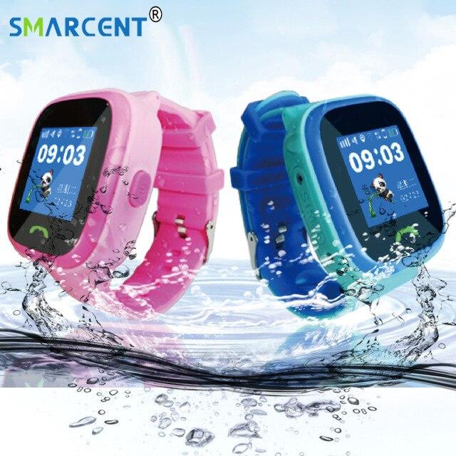 Q520 Enfant Bébé Smartwatch IP67 De Bain GPS Tactile Téléphone intelligent montre SOS Appel Dispositif de Localisation Tracker Kids Safe Anti-perdu Moniteur