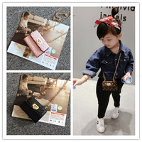 Korean Children Cute Bag Children Baby Single Shoulder Bag Purse With Little Princess