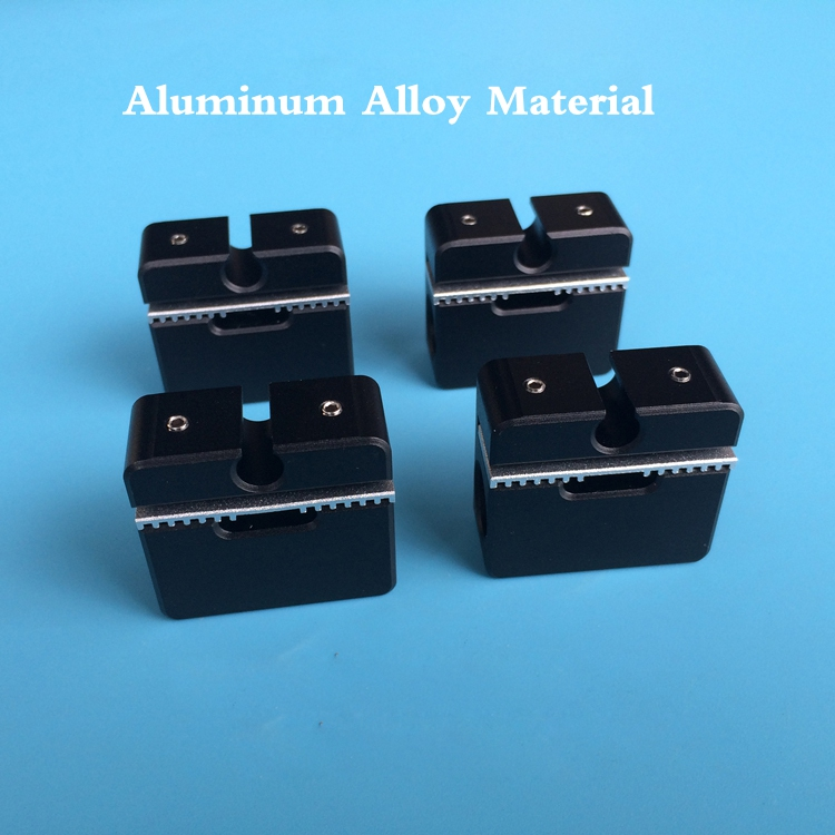 4pcs 3D printing Parts Ultimaker2 UM2 aluminum alloy slider black cross slider Sliding Box + belt Fixing plate for Ultimaker 2 1pcs openbuilds slider gantry plate standard 65 65 3mm aluminum alloy cnc special slider plate for 3d printer