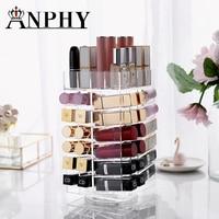 Acrylic makeup organizer box acrylic spinning organizer storage box transparent plastic cosmetics storage box makeup organizer
