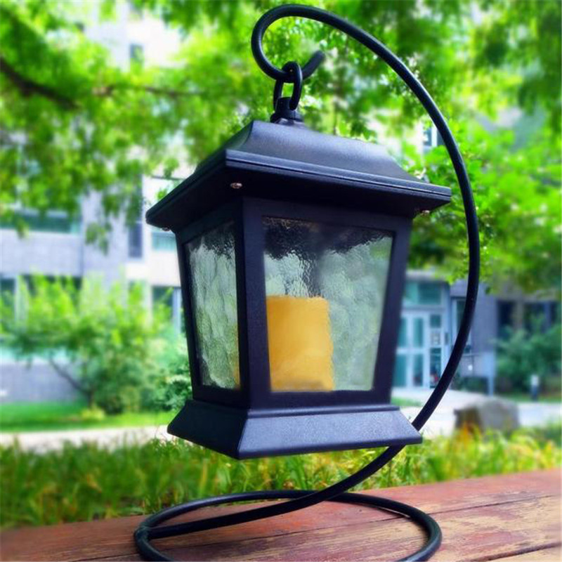 Battery Operated Chandelier With Awesome Battery Operated Outdoor And Indoor Chandelier Decor: Energy Saving LED Solar Panel Candle Desk Table Lawn Light Sensor Garden Outdoor Chandelier