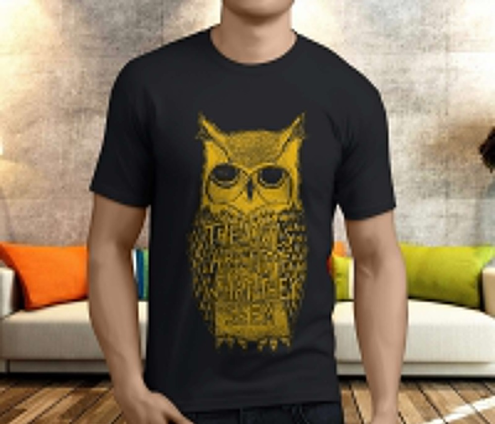 Graphic Tee Stores Fashion Twin Peaks Tv Show The Owls Are Not What They MenS O-Neck Short-Sleeve Mens T Shirts