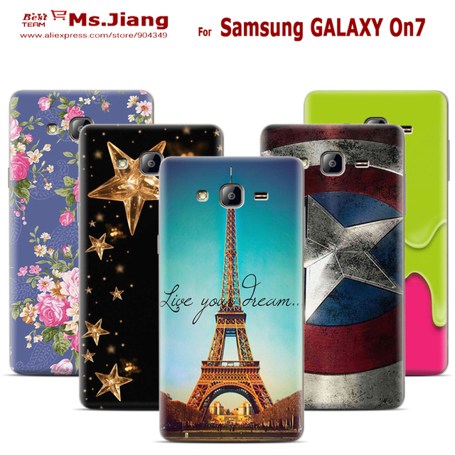 quality design ca4fe 51971 US $10.98 |Matte Hard Back Cover Case For Samsung GALAXY On7 Phone Case For  Fundas Samsung G6000,G600,GALAXY O7,GALAXY Mega O7 Plastic Case-in ...
