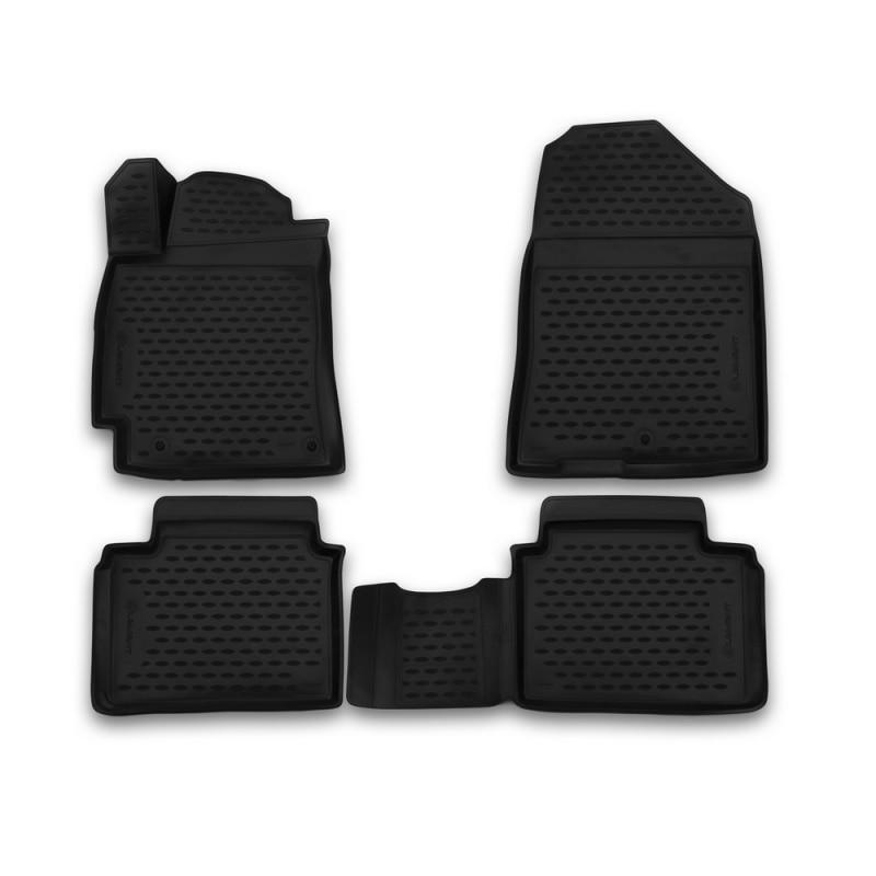 Car Mats 3D salon For HYUNDAI Elantra 05/2016->, 4 PCs (polyurethane) car mats 3d salon for hyundai elantra 2007 2010 4 pcs polyurethane