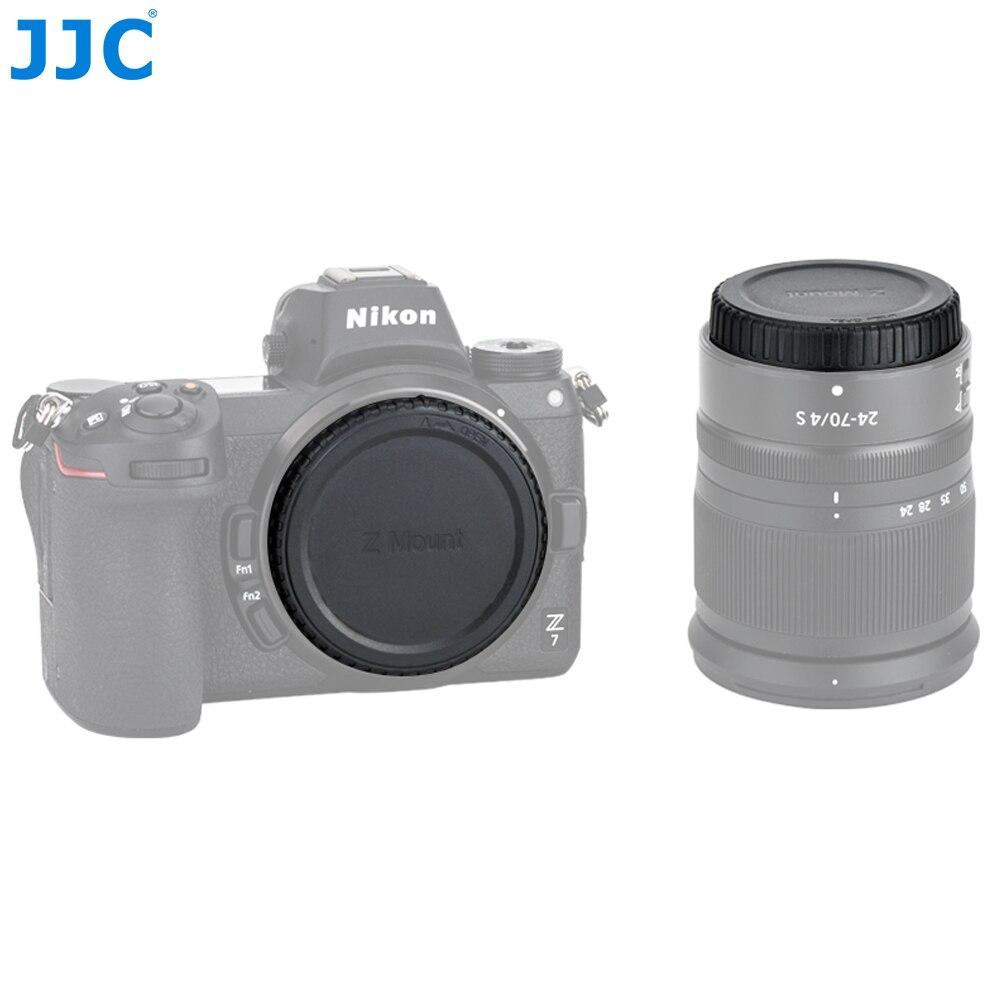 JJC L-RNZ крышка корпуса камеры и задняя крышка объектива для Nikon Z крепление камеры и линзы заменяет Nikon BF/LF-N1-N1