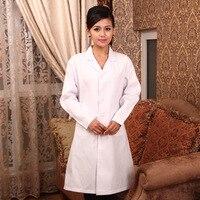 Men S And Women S Medical Lab Coat Lab Coat Lab Coat Long Sleeved Doctor Suit