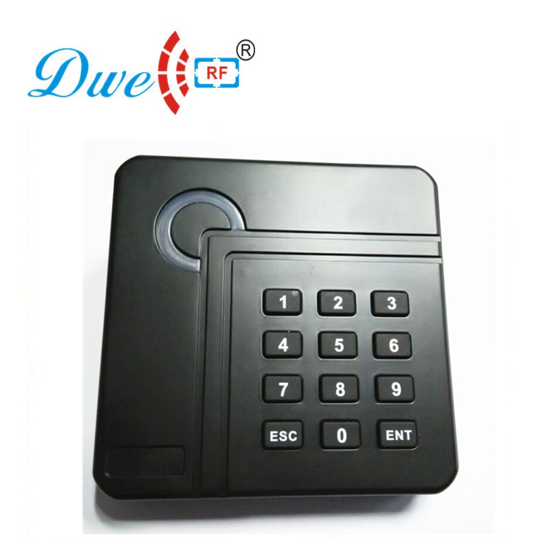 DWE CC RF access control card reader proximity rfid tag reader black key electronic readers