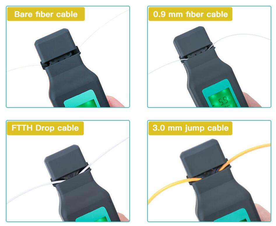 Image 5 - Optic Fiber Identifier Live Fiber Optical Identifier 750nm 1700nm SM and MM fiber cable FF 3306A-in Fiber Optic Equipments from Cellphones & Telecommunications