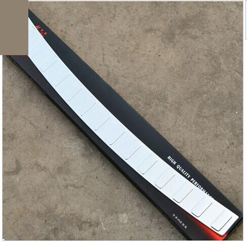 High quality stainless steel Rear bumper Protector Sill fit for 2011-2013 Volkswagen Passat B7 Car styling