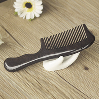 1PC Boutique multi style Handle Ebony Hair Comb Hairdressing Tool Health Comb G0413