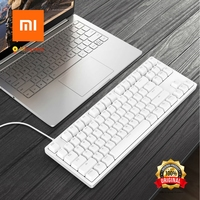 Xiaomi Keyboard Yuemi 87 Keys Mechanical Keyboard LED Back Light Pro Gaming Keyboard Back Lit Aluminum