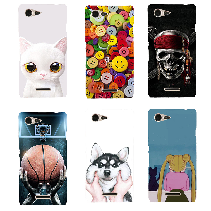 Soft Cases For <font><b>Sony</b></font> <font><b>xperia</b></font> <font><b>E3</b></font> D2203 D2206 <font><b>D2212</b></font> Fashion Painted Soft Silicone TPU Back Cover For <font><b>Sony</b></font> <font><b>Xperia</b></font> <font><b>E3</b></font> E 3 Phone Case image