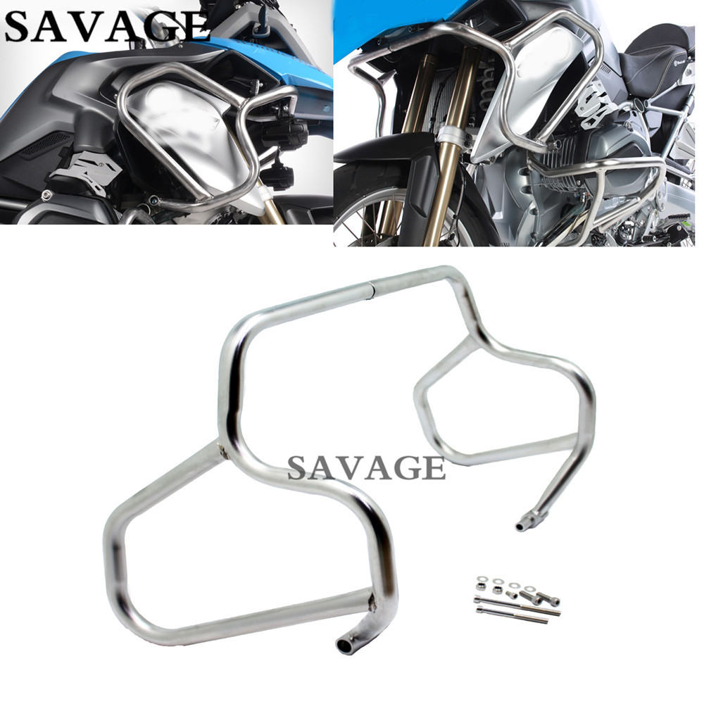 Free shipping Motorcycle Tank Protection Bar Protection Guard Crash Bars Frame For BMW R1200 R 1200 GS LC 2013- Up 14 15 motoo motorcycle refit tank protection bar protection guard crash bars frame for bmw r1200 r ninet 2014 2015 2016 2017 2018