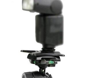 Image 4 - Kaliou 1 adet kamera flaşı Sıcak ayakkabı standı Adaptörü Tutucu Dağı AS 21 Hız işık Canon Nikon için 430EX 580EX SB600 SB900