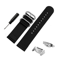 20mm Luxury Nylon Sports Watch Bands Sport Fitness Replacement Strap Adapters For Samsung Galaxy Gear S2