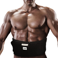 TOOLTOO Rechargeable Electric Abdominal Muscle Trainer Fat Burning Shoulder Body Cervical Electric Pulse Neck Therapy