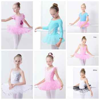 Sales Toddler Girls Ballet Tutu Dress Sequin White Tutu Leotards Ballet Dress Sleeveless Gymnastics Swim Suit For Dancing - DISCOUNT ITEM  14% OFF All Category