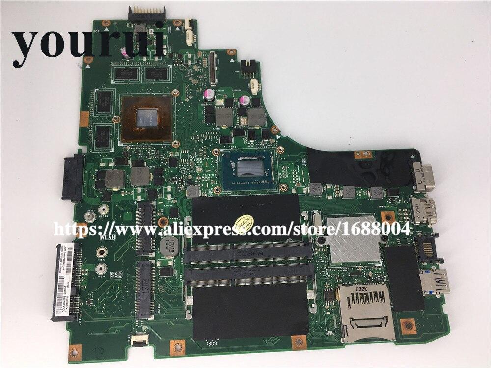 For ASUS A46C S46C E46C K46C K46CB K46CM Motherboard W//i5-3317U GT635M mainboard