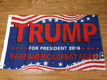 3×5 Donald Trump For President Make America Great Again Flag 3'x5′ Banner