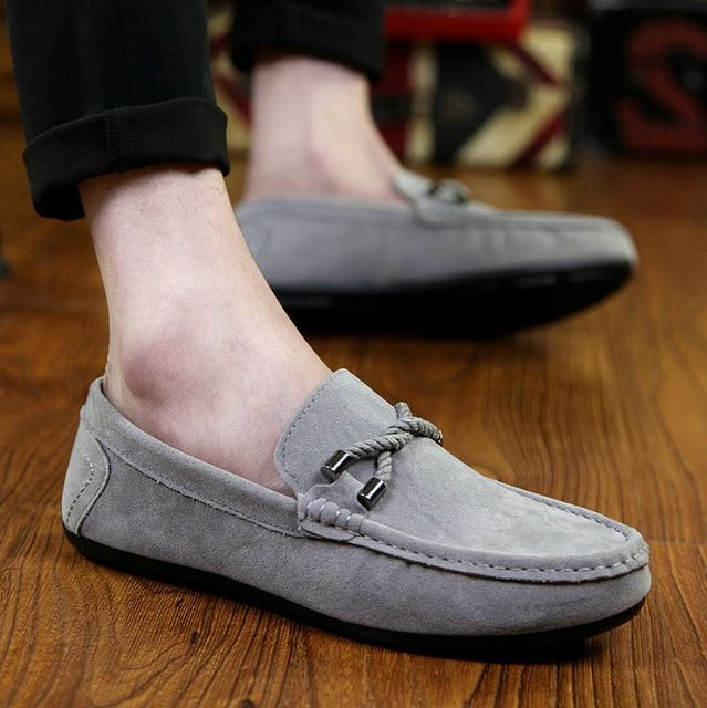 Mens Spring Comfort Breathable Ankle Slip On Outdoor Boat Shoes