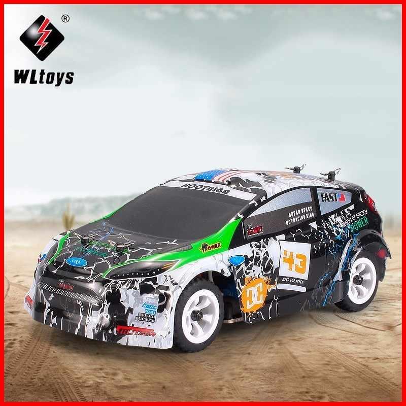 Carro rc wltoys k989 1/28 mini 4wd fora da estrada rc escovado rali carro estrutura do chassi liga