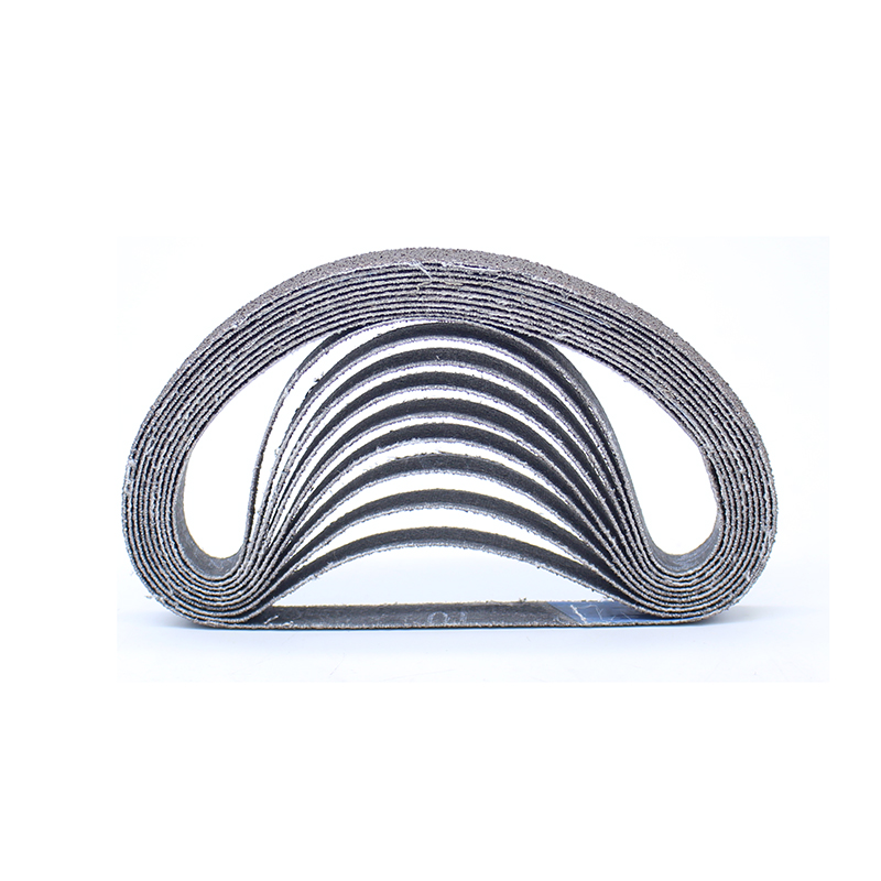 20PCS 10MM*330MM Abrasive Band For Pneumatic Belt Sander 80 Grits