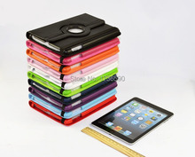 Top Quality Luxury 360 Degree Rotating Flip PU Leather Stand Case For Apple Ipad Air 1 For Ipad 5