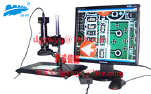 USB Computer video microscope/HD video microscope with five million pixels/delivery fast!