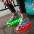 2017 New LED Women Shoes Lumineux Chaussure Homme Adults Light Up Lumineuse Schuhe Schoenen Casual Shoes Lovers Cool Light Shoes