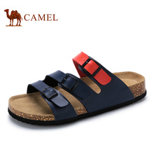 Camel Men's Casual Buckle Straps Sandals Flip Flop Platform Footbed A722226393