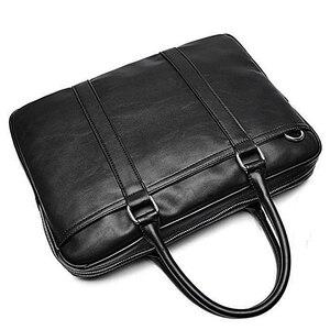 VORMOR تعزيز بسيطة الشهيرة الماركة التجارية الرجال حقيبة حقيبة جلدية فاخرة حقيبة لابتوب رجل حقيبة كتف بولسا maleta