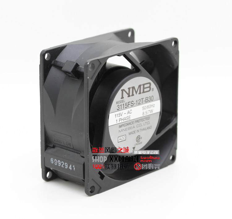 ФОТО Original new 3115FS-12T-B30 8038 115V 7W 8cm inverter industrial cooling fan