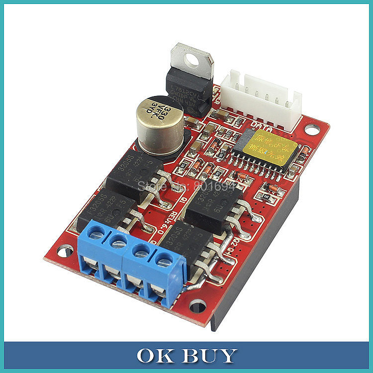 <font><b>DC</b></font> 12V/<font><b>24V</b></font>/36V 2 Way PWM <font><b>Motor</b></font> Driver Board Module <font><b>450W</b></font> High Power Controller image