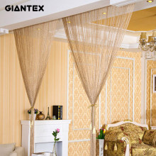 2.9x2.9m Modern Living Room Curtains Thread Curtains String Curtain Door Bead Sheer Curtains for Window Bedroom Cortinas Salon(China)