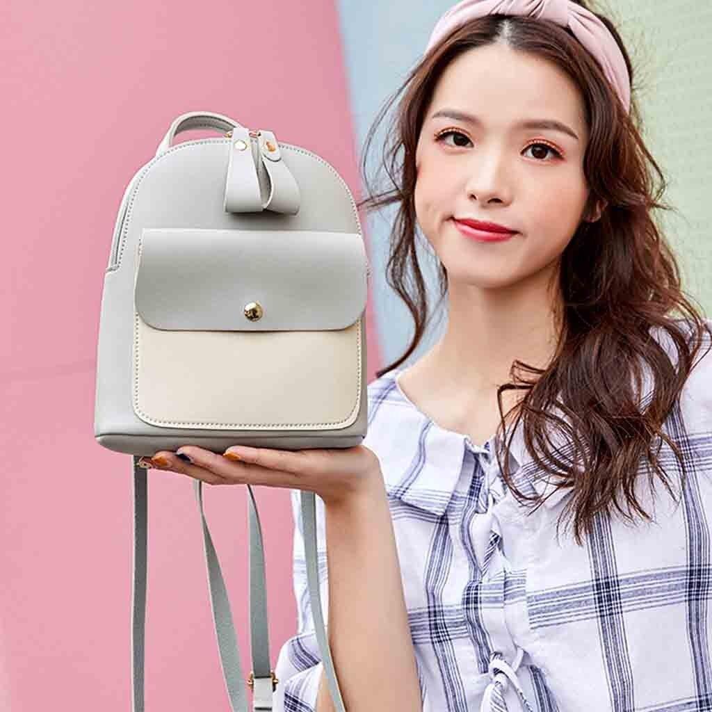 HTB1HrX3bhv1gK0jSZFFq6z0sXXaX New Designer Fashion Women Backpack Mini Soft Touch Multi-Function Small Backpack Female Ladies Shoulder Bag Girl Purse #YY