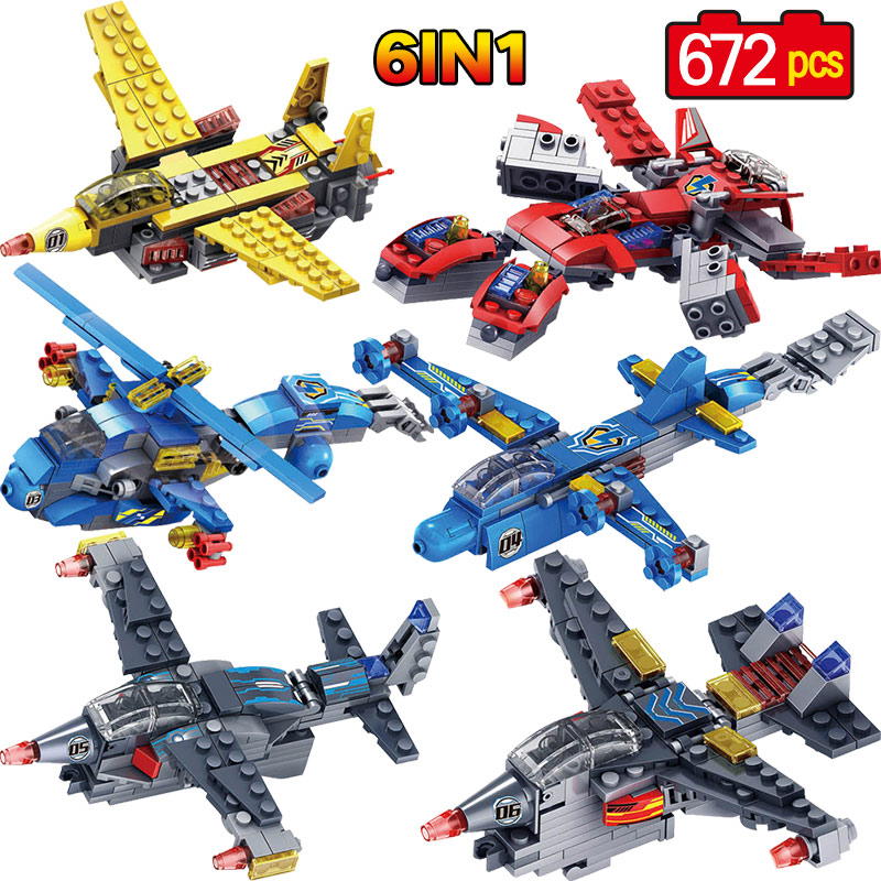 Enlighten Military Educational Building Blocks Toys For Children Boy's Gift Cars Planes Helicopter Transformation Robot enlighten 1406 8 in 1 combat zones military army cars aircraft carrier weapon building blocks toys for children