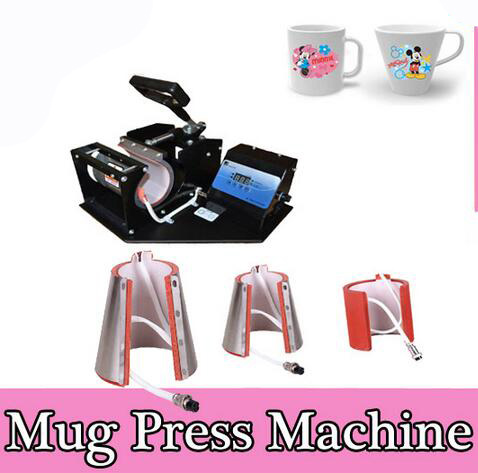 Free shipping 4in1 Mug font b heat b font transfer font b machine b font unit