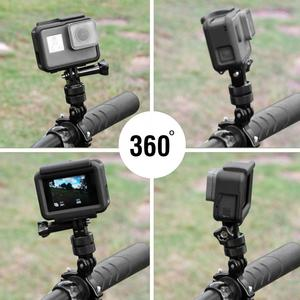 Image 5 - 360 องศาอลูมิเนียมหมุนอลูมิเนียมหมุน Pivot ARM Mount Adapter สำหรับ GoPro HERO 6/5/4/7 ARM Mount Adapter