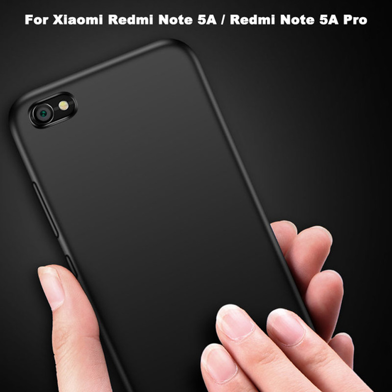 Xiaomi Redmi Note 5A Case Luxury Matte Silicone Soft Cover For Xiomi Xiaomi Redmi Note 5A Pro Protection Phone Cases Back Cover