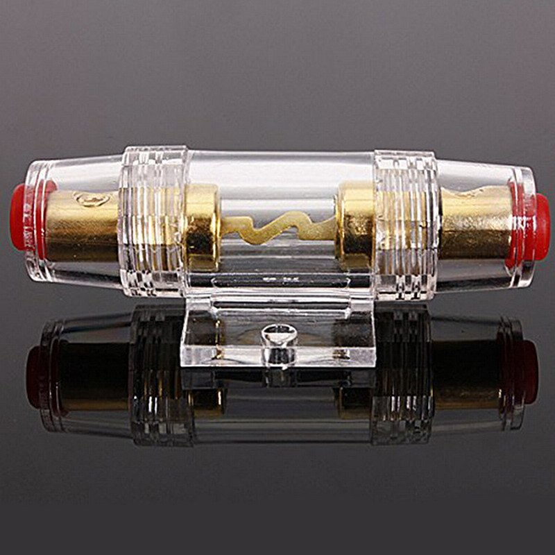 1PC New  IMC Audio 100 Amp Inline AGU Fuse Holder & Fuse Fits 4 8 10 Gauge Wire Drop Ship High Quality And Durable