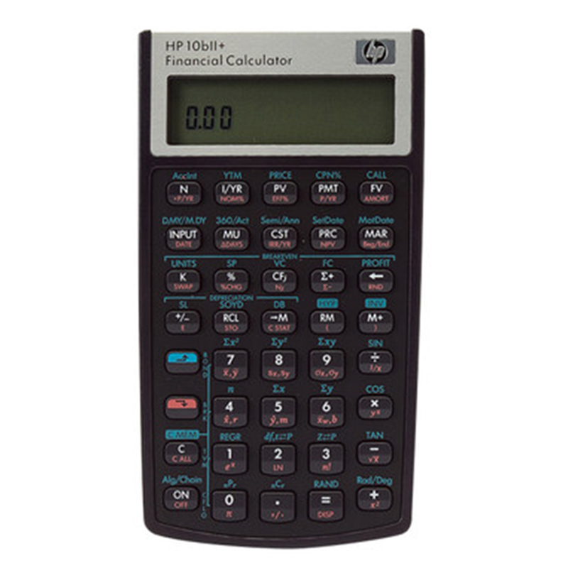2018 Hp 10BII+ Financial Calculator 10 Digits Led Eletronicos Calculators Hp10b2 Hp10b Afp, Cfp Special Genuine cfp board financial planning competency handbook