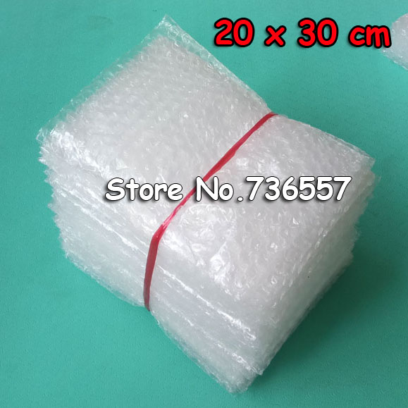 20x30cm 100pcs New Bubble Envelopes Wrap Bags/ Anti-static Pouches/ Red Color PE Mailer Packing Bag Free Shipping