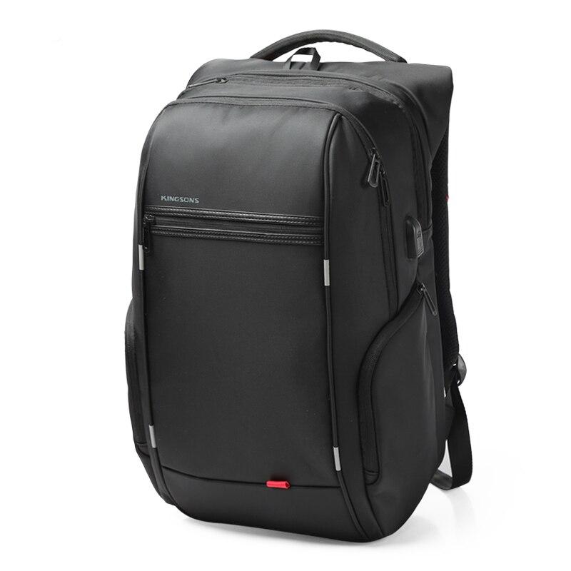 External USB Charge Laptop Backpack Anti-theft Notebook Packsack 15/17 inch Waterproof Laptop Bag for Men Women