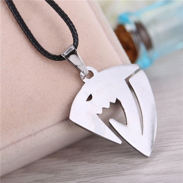 Blue Logo Fairy Tail Necklace
